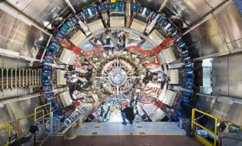 Bild aus der Bauzeit des LHC. ©CERN