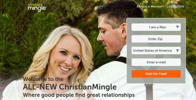 Christian Mingle. Screenshot: bb